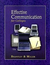 Effective Communication for Colleges by Michele Goulet Miller and Clarice...