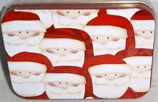 CHRISTMAS GIFT CARD TIN   SANTA'S