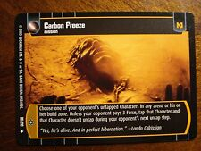 Star Wars TCG ESB 4x Carbon Freeze