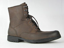 ROCKPORT BOOTS ParkRidge Lace up Dark Brown Leather Boots SZ 14 $175