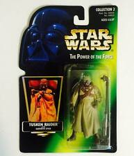 "HASBRO / KENNER STAR WARS 3.75INCH POWER OF THE FORCE "" TUSKEN RAIDER "" - RARE"