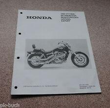 Montageanleitung / Betriebsvorleitung Honda VT 1100 C Stand 1993
