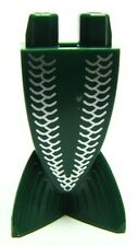 LEGO - Minifig Tail, Merman / Mermaid w/ White Scales Pattern - Dk Green