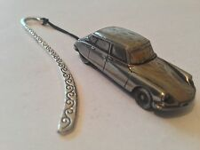 Citroen DS2 (Early Version)  FULL CAR on a Pattern bookmark with cord ref38
