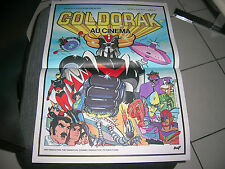 "AFFICHE CINEMA ORIGINALE 40x60 *GOLDORAK""1979"