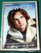 ROBERT PATTINSON, How to Be, DVD, NEW