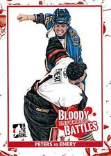 Peters vs Emery 81 2011-12 In The Game Enforcers Bloody Battles