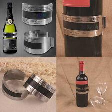 78874J//THERMOMETRE BRACELET VIN A CRISTAUX LIQUIDE DIVERS ALCOOL NEUF