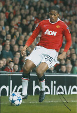 Antonio VALENCIA Signed Autograph 12x8 Photo AFTAL COA Manchester United Genuine
