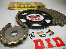 HONDA CBR250R  DID GOLD X-Ring CHAIN AND SPROCKETS KIT *PREMIUM KIT*  OEM or QA