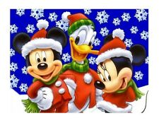 Mickey Mouse Christmas edible image cake topper decoration frosting sheet