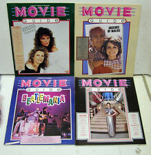 Set of 4-1981 Movie Guide Magazine #2-4 & 6- Newman/Fields/Dunaway/More (L9905)