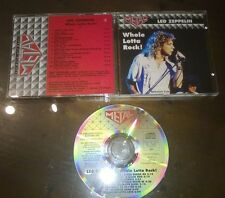 "Led Zeppelin CD "" WHOLE LOTTA ROCK "" Armando Curcio Editore/Metal"