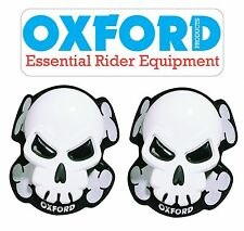 OXFORD COPPIA SAPONETTE  SKULL TESCHIO TUTA MOTO MOTO HYOSUNG - INDIAN