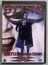 tna wrestling STING RETURN OF AN ICON  DVD NEW