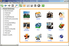LingvoSoft Talking Picture Dictionary English Japanese (Kana)