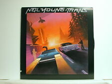 Neil Young - Trans, Geffen GHS 2018, 1982 1st Press Stereo LP With Sticker