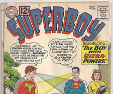DC Comics Superboy #98 Ultra-Boy from July 1962 in Good con