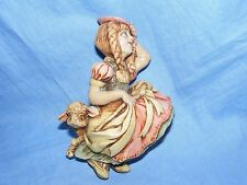 Pendelfin Stoneware Nursery Rhyme Plaque Little Bo Peep Two Shoes Burnley Rare