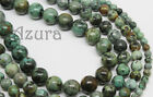 African Africa Turquoise Semi-Precious Round Gemstone Beads