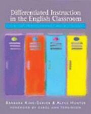 Differentiated Instruction in the English Classroom: Content, Process, Product,