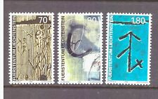 Liechtenstein 1999 Art Walser  Identification Marks  MNH mint set SG1212-1214
