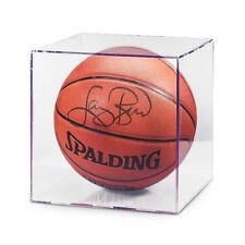 (1) ~ Basketball Ultra Pro Clear Acrylic Display Case Cube Holder ~ New!
