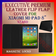 "ACM-EXECUTIVE LEATHER FLIP FLAP CASE for XIAOMI MI-PAD 8"" TAB COVER STAND MIPAD"