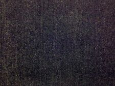 14oz INDIGO DENIM PLAIN BLUE COTTON DRESSMAKING CRAFT SOFT FURNISHING FABRIC