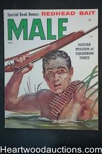 Male Mar 1956 Ruddy Nappi, Vic Prezio, General MacArthur, Marsha Bland - Ultra H