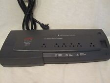 APC BACK-UPS OFFICE 500VA POWER STRIP with SIX OUTLETS BF500, 120V 500VA