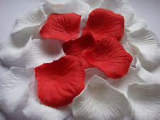 200Pcs RED Silk  Petals Wedding Flowers favors Decoration Wholesale/retail