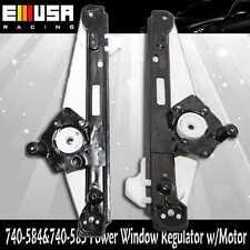 Rear RH+LH Power Window Regulator w/o Motor for 00-07 Ford Focus 740-585 740-584