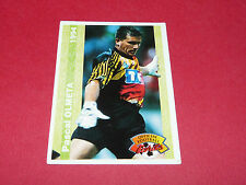 PASCAL OLMETA OLYMPIQUE LYON OL GERLAND FRANCE FOOTBALL CARD PANINI 1994