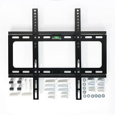 "LCD LED Plasma Flat TV Wall Mount Bracket 27 32 37 40 42 46 47 50 55 60"" Screen"