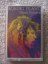 "LED ZEPPELIN ROBERT PLANT ""MANIC NIRVANA"" CASSETTE 1990 HURTING KIND BIG LOVE"