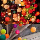 20 LED Mixed Color Balls String Fairy Lamp Light Wedding Party Home Patio Decor