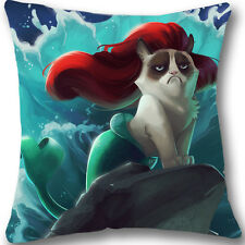 Cool Grumpy Cat Home Decor 18x18 Inch Pillowcase Custom Pillow Cover Case L491