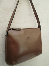 -AUTHENTIQUE moyen  sac à main FENDISSIME  cuir  BEG vintage bag