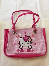 NEW Sanrio Hibiscus Hello Kitty Shoulder Bag Pink Tote