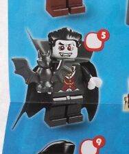 Lego 8684 Series 2 #5 VAMPIRE Bat Lord Dracula figure Minifigure New Sealed