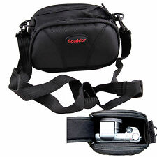 Black Camera Case Bag Pouch For SONY Cyber-Shot DSC RX100 RX1 HX50