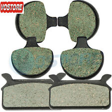Fr&R Kevlar Carbon Brake Pads fit 1994-1999 1998 Harley FLHR Road King Classic