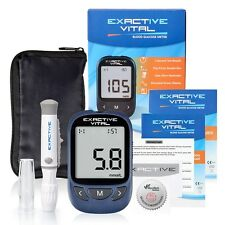 "Exactive Vital Precision Blood Glucose & Monitoring Meter  ""mmol/L """