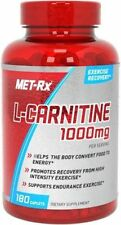 Met-Rx L-Carnitine 1000MG 180 Tablets