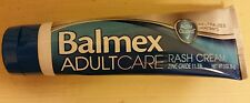 2x Balmex Adult Care Rash Cream SEALED BOTTLE 3 oz