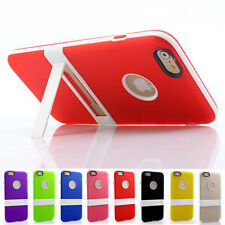 Ultra Thin Silicone Bumper Case Cover Skin With Holder Kickstand for Cell Phone