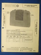 ARVIN 446P CH RE-280 SERVICE INFO MANUAL WITH SCHEMATIC SAMS PHOTOFACT