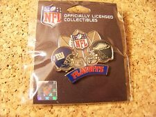 2008 2009 NFL Playoffs Giants Eagles Division NFC lapel  pin