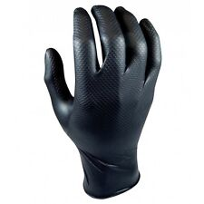 QSP Grippaz Mechanic Gloves Black #M (8)